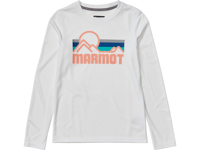 Marmot Windridge LS Top Girls white